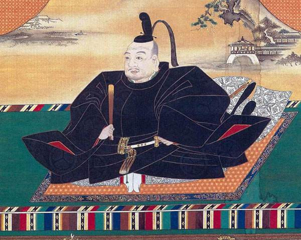 The first Tokugawa shogun Ieyasu