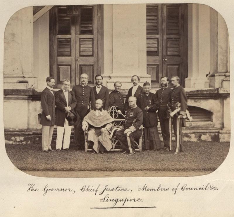 british governer in Singapore