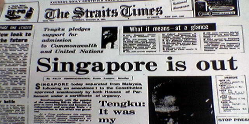 independence of singapore